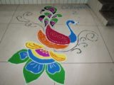 Rangoli competition Diwali Celebration