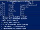 II Pre Board X Class