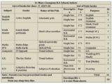 Book list for class V