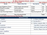 Book list for class KG-II