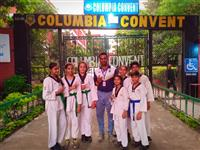 SGFI Taekwondo Divisional Competition,our champs clinched 6 gold and 1 silver medal