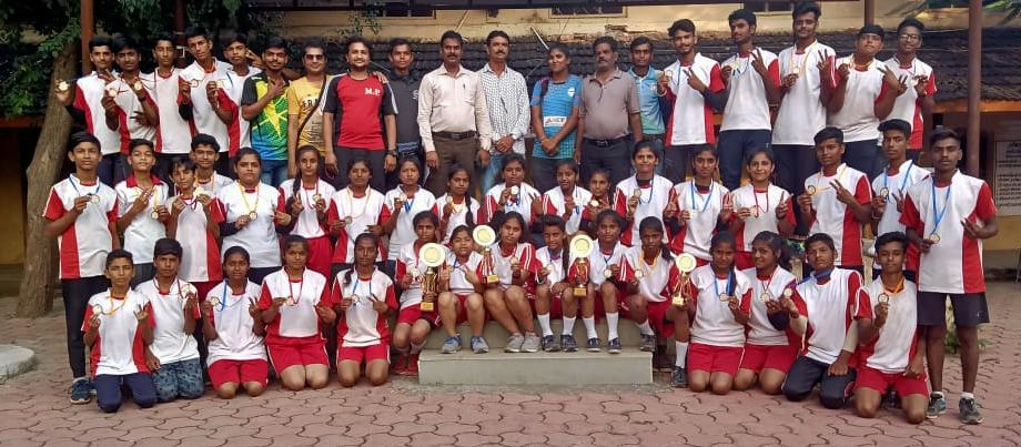 65th SGFI State Level Drop Ro Ball Tournament