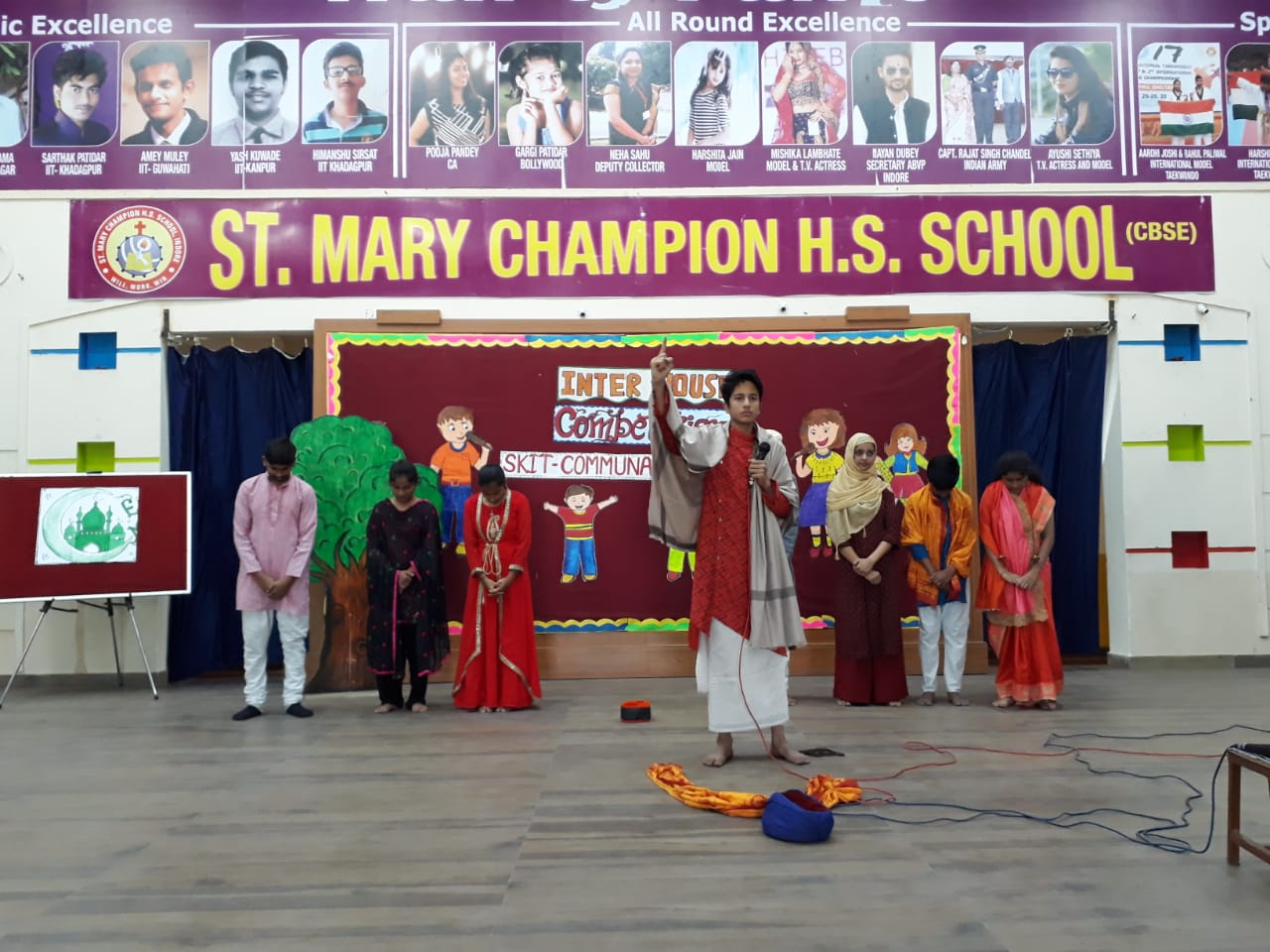English skit Competition