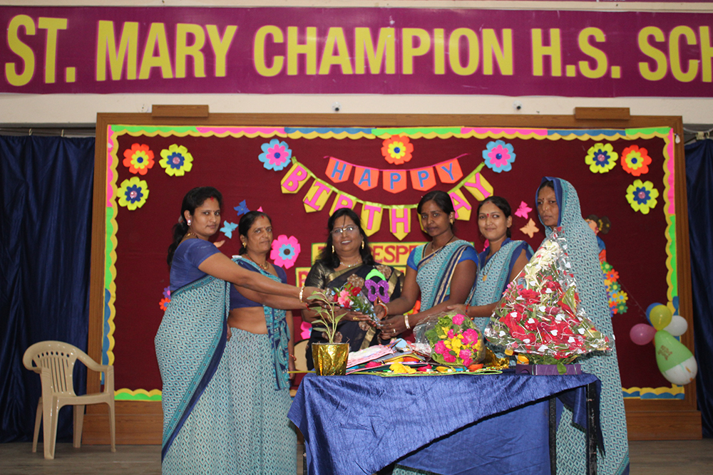 Principal Birthday Celebration