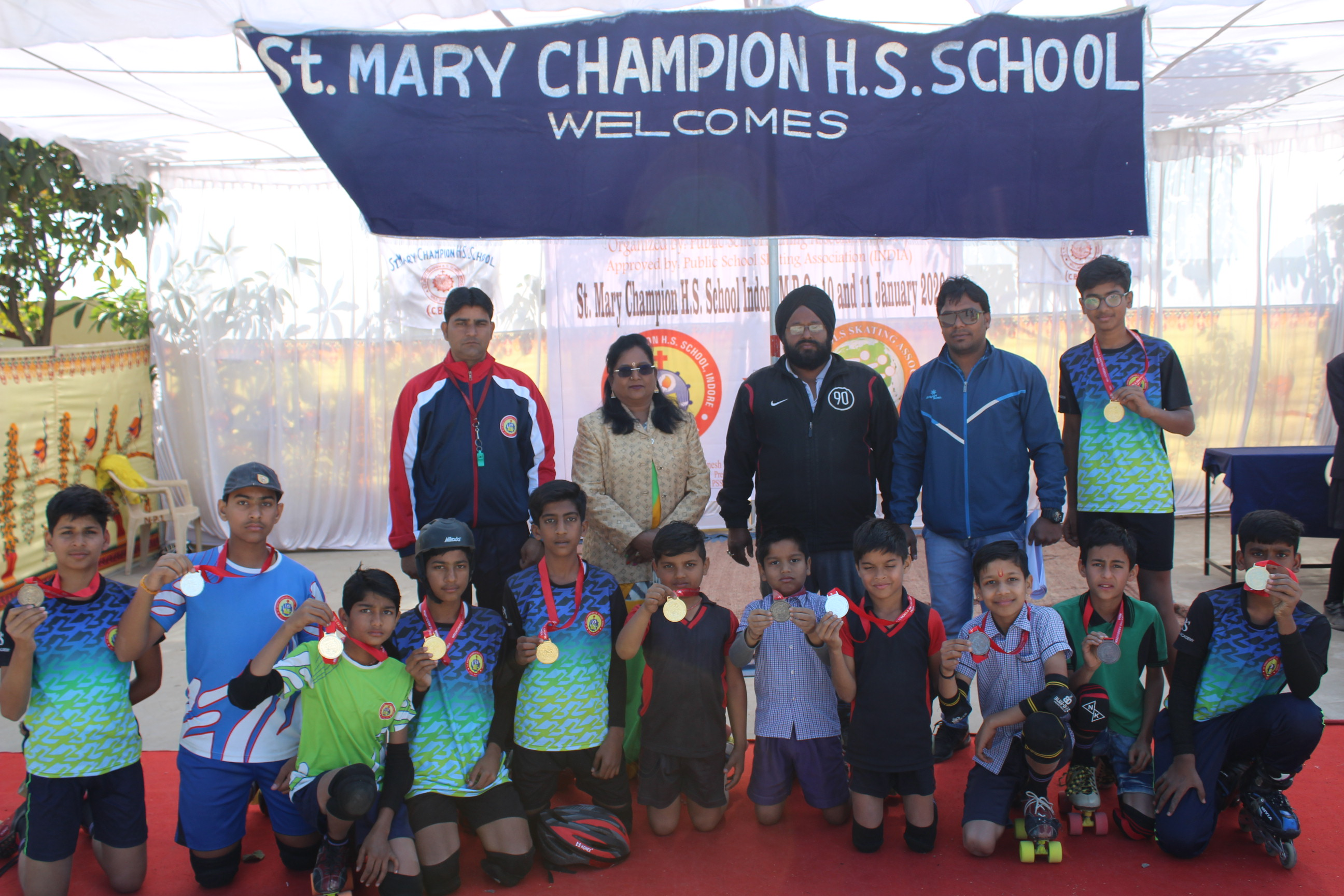 1st Public Schools All India Roller Skating Championship 2020