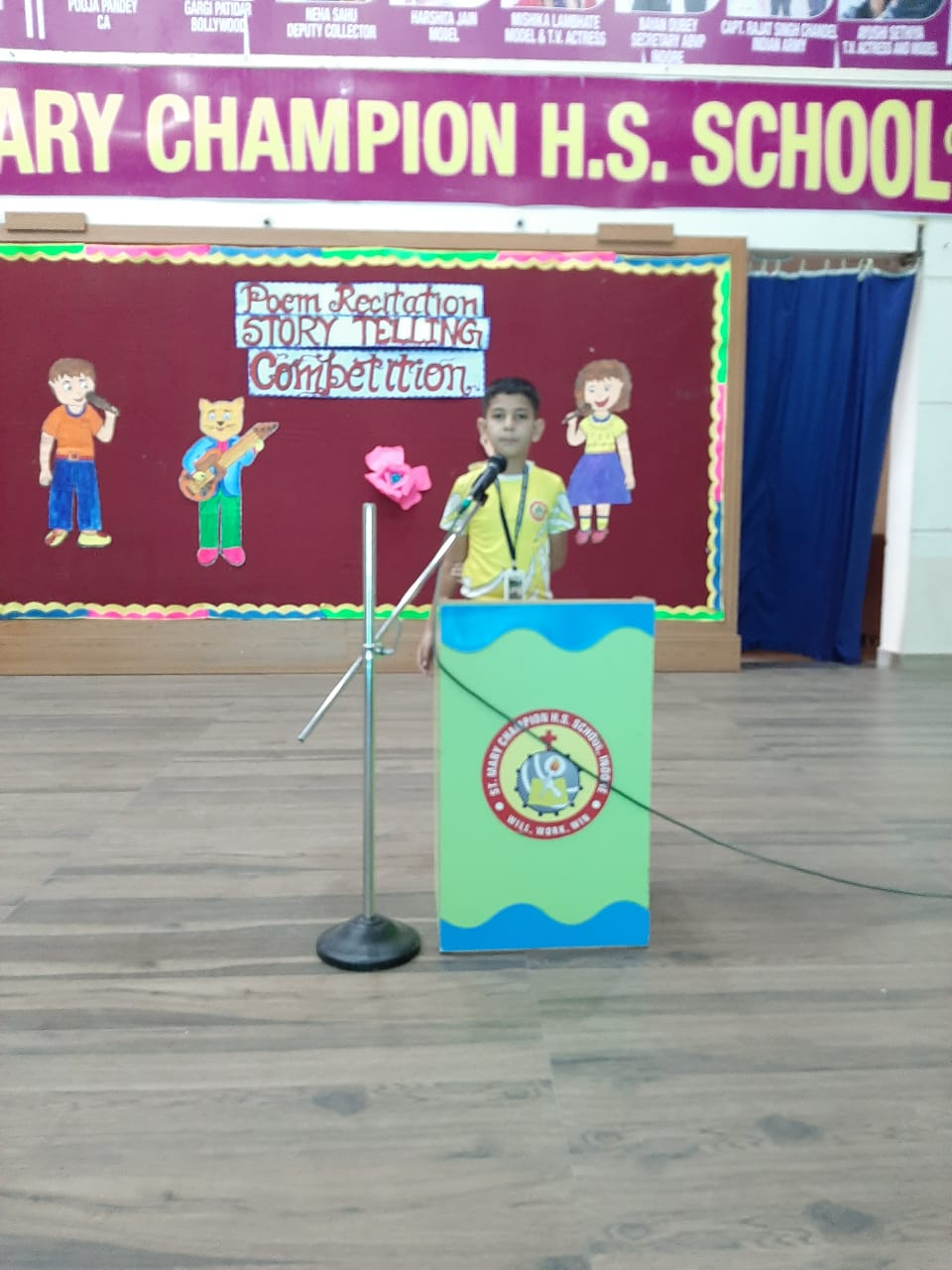 Poem and Story Telling Competition