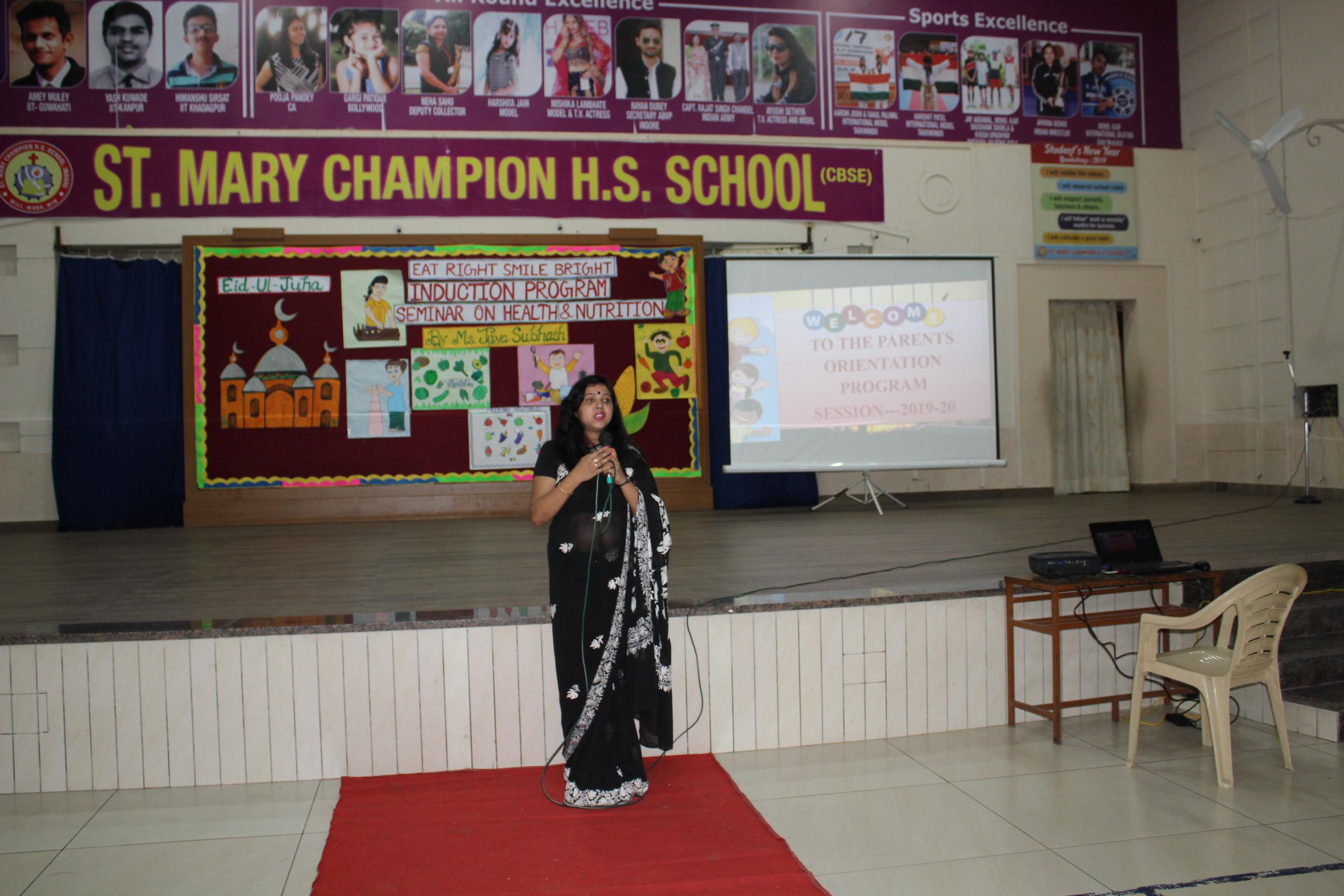 Health and Nutrition Seminar