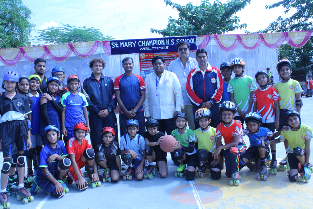 Inter school Roll ball Competition