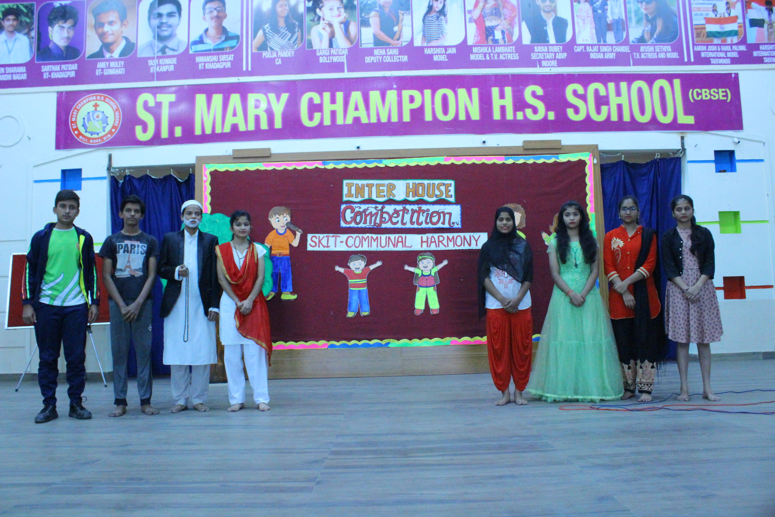 Inter-House Skit Competition